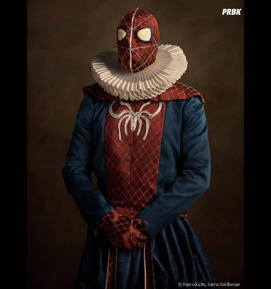 Dá para imaginar Homem-Aranha jogando suas teias pelos castelos do reino?