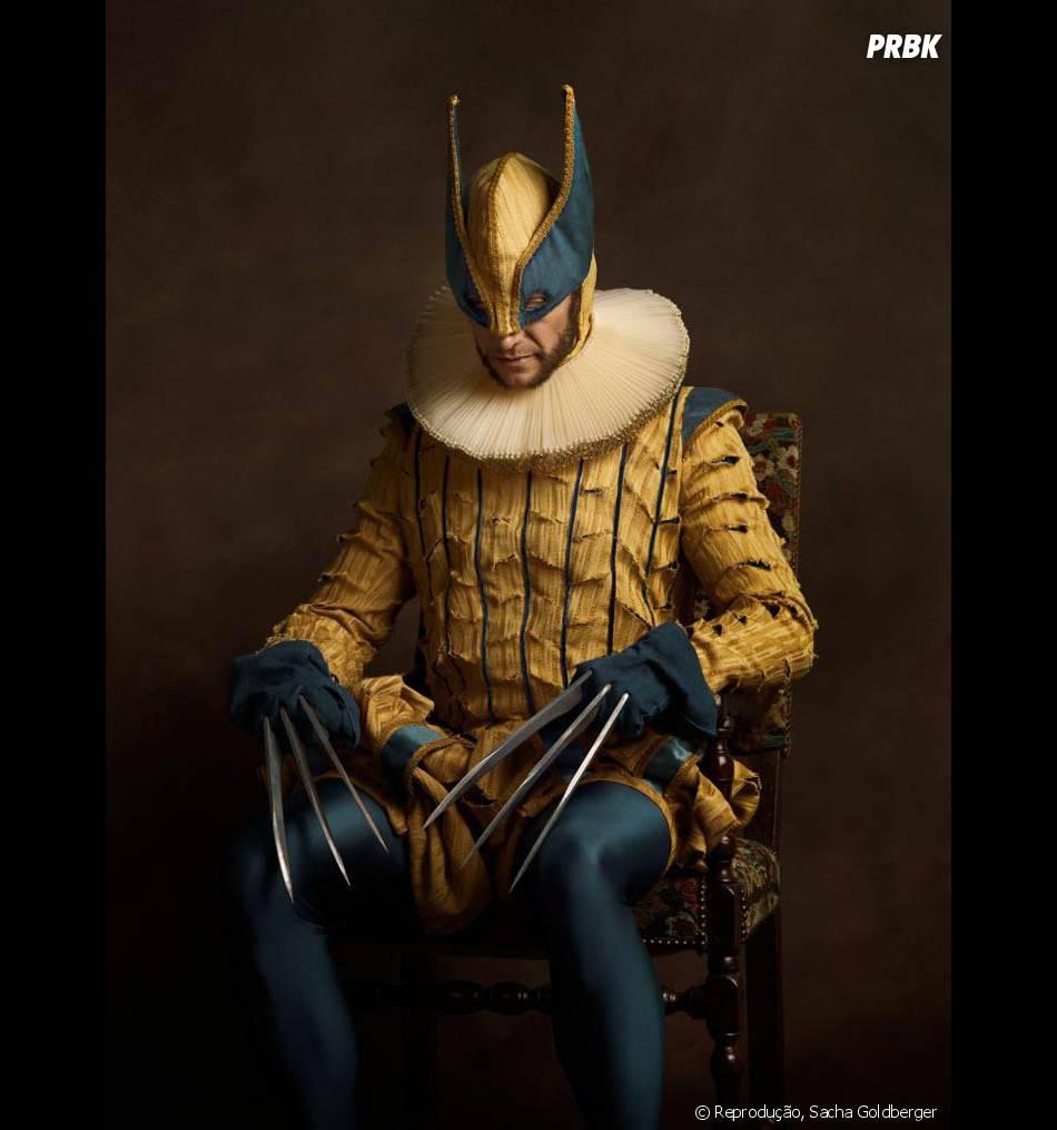 Parece que o Wolverine não conseguiu se entender muito bem com a roupa nova