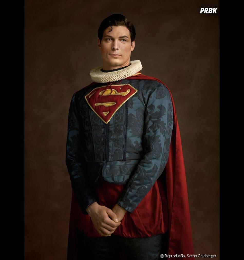 O Superman até parece um príncipe encantado