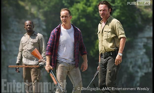 """Carter (Ethan Embry) é um dos novos personagens de """"The Walking Dead"""""""