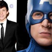 """De """"Capitão América 3"""": Tom Holland, o novo Homem-Aranha, já filmou a sua participação no filme"""