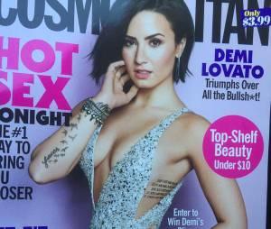 4a209f7f2 Demi Lovato aparece sensual na nova edi ccedil  atilde o da revista  Cosmopolitan