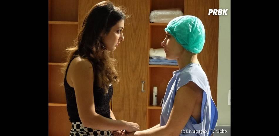 """Em """"Malhação"""", os problemas de Jade (Anaju Dorigon) e Lucrécia (Helena Fernandes) se resolveram com o tempo"""