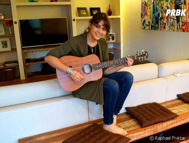 """A Maria Luiza, de """"Malhação"""", tem um amor imenso pela música!"""