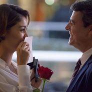 """Novela """"Babilônia"""": Alice (Sophie Charlotte) finalmente aceita se casar com Evandro"""