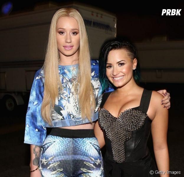 Demi Lovato e Iggy Azalea vão cantar juntas uma música chamada Kingdom Come