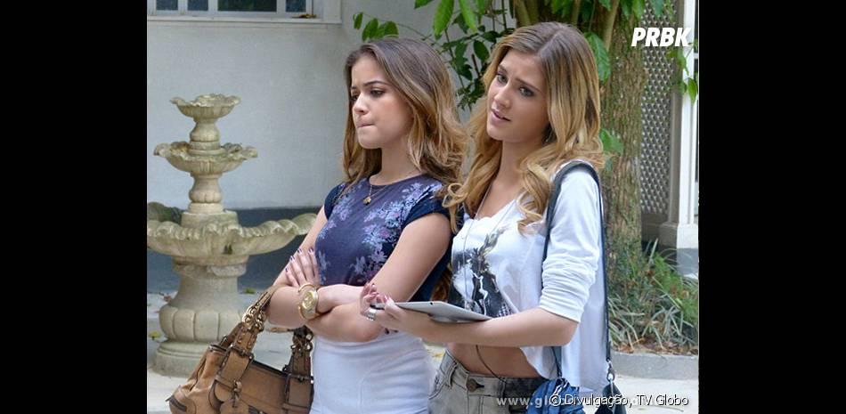 """Hanna Romanazzi e Anna Rita Cerqueira interpretam duas BFF's em """"Malhação"""": Sofia e Flaviana, respectivamente"""