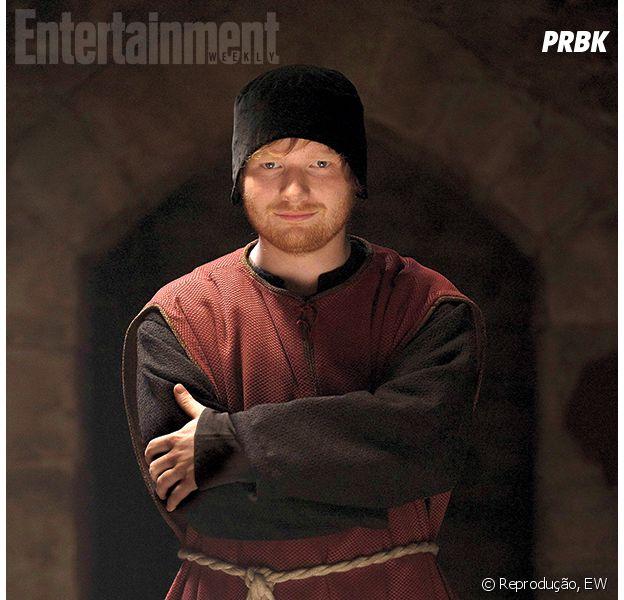 """Ed Sheeran aparece pela primeira vez com roupa de """"The Bastard Executioner""""!"""