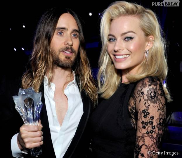 """Margot Robbie e Jared Leto contracenam em """"Esquadrão Suicida"""""""