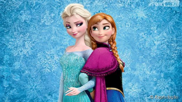 """A versão que deu origem a """"Frozen"""", traz dois amigos: Gerda e Kai. Kai é enfeitiçado pela Rainda da Neve e se torna uma pessoa horrível, esquecendo amigos e família"""