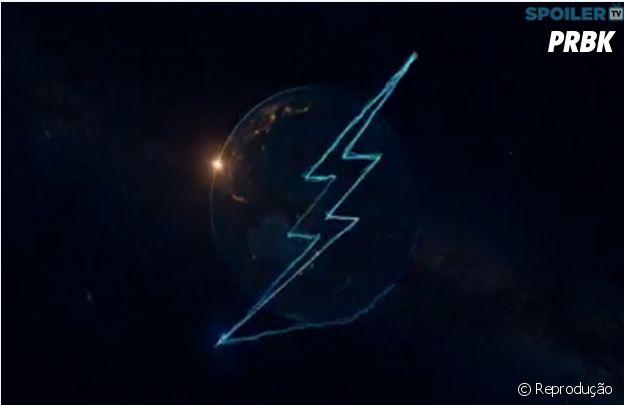 """Em """"The Flash"""": no 2º teaser da 2º temporada,Barry Allen(Grant Gustin) aparece correndo em volta da Terra!"""
