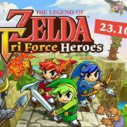 """Trailer de """"The Legend of Zelda: Tri Force Heroes"""" mostra jogabilidade do trio de Links"""