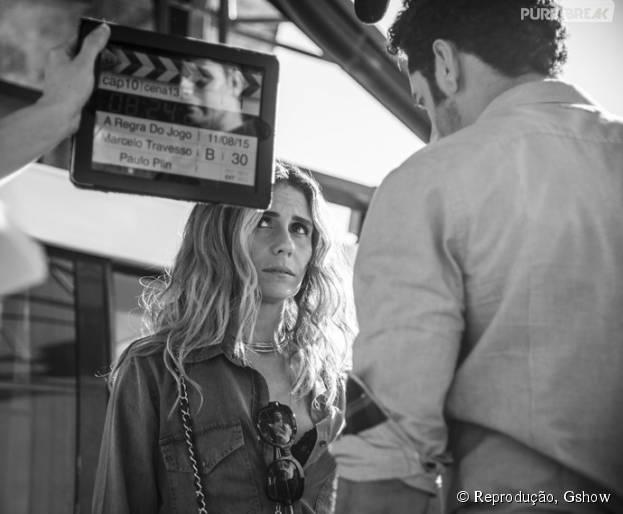 """Giovanna Antonelli, vilã em """"A Regra do Jogo"""", diz que se organiza para dividir tempo entre gravações e família"""