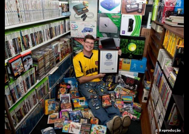Michael Thomasson, o americano que tem 11 mil jogos.