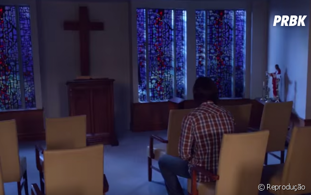 """Sam (Jared Padalecki) aparece em uma capela em novo trailer de """"Supernatural"""""""