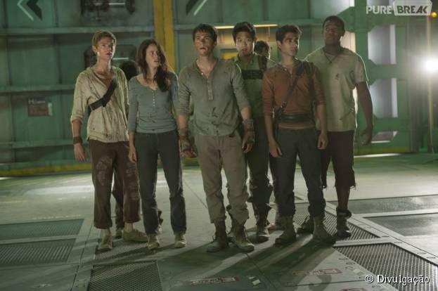 """""""Maze Runner 2"""" chega aos cinemas nesta quinta-feira (17)"""