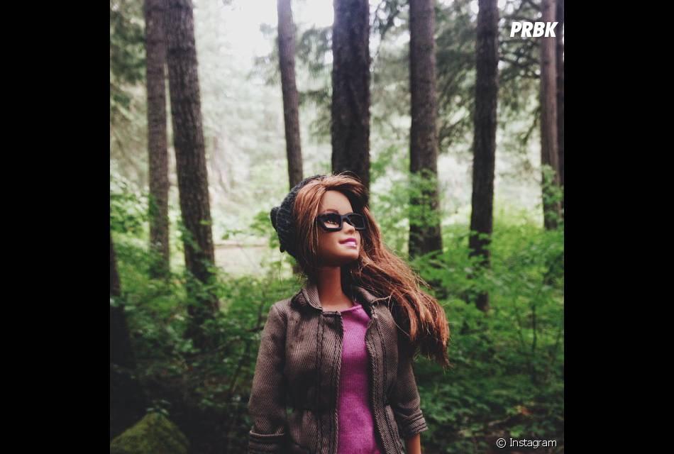 Barbie também adotou o estilo hipster do Instagram: filtros desbotados e muita natureza ao fundo