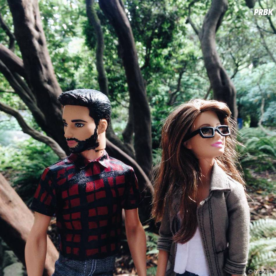 Casal mais perfeito do mundo: Barbie hipster e Ken Lumbersexual