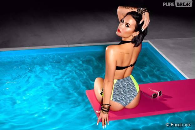"""Demi Lovato finalmente lança oficialmente o single """"Confident"""""""