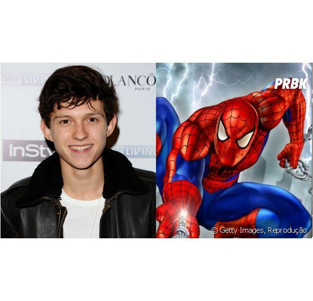 O novo Homem-Aranha, interpretado por Tom Holland, tem 15 anos de idade!