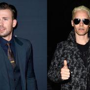 """Chris Evans e Jared Leto juntos no cinema? Dupla pode estrelar """"A Garota do Trem"""", com Emily Blunt"""