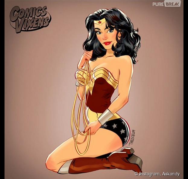 mulher maravilha supergirl arlequina e mais personagens dos