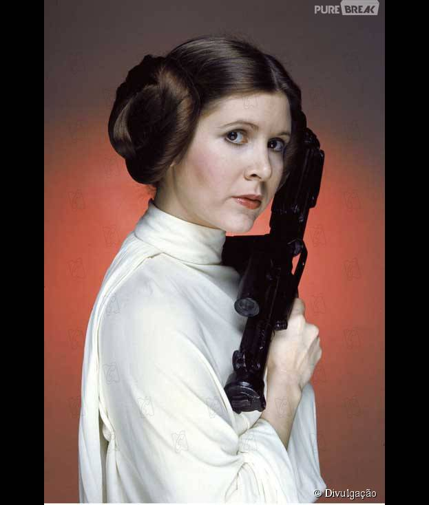 """Consegue imaginar a Princesa Leia, de """"Star Wars"""", nos dias de hoje?"""
