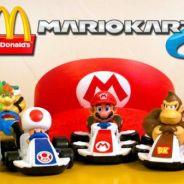 """Bonequinhos de """"Mario Kart"""" serão os próximos brindes do Mc Lanche Feliz"""