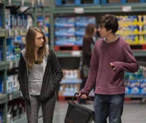 """""""Cidades de Papel"""", com Nat Wolff e Cara Delevingne, chegou aos cinemas em julho de 2015"""