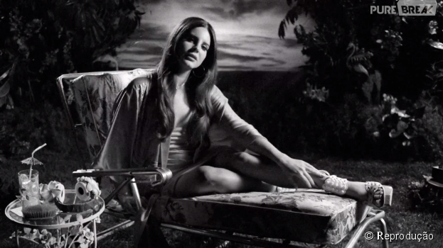 "Lana Del Rey aparece toda gata no clipe de ""Music To Watch Boys To"""