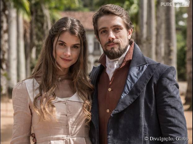 """Em """"Além do Tempo"""", saiba como vai ser o reencontro de Lívia (Alinne Moraes) e Felipe (Rafael Cardoso)!"""