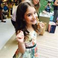 """Jurada do """"Bake Off Brasil - Mão Na Massa"""", a atriz mirimSophia Valverde interpretou a pequena Maria de """"Chiquititas"""", do SBT"""