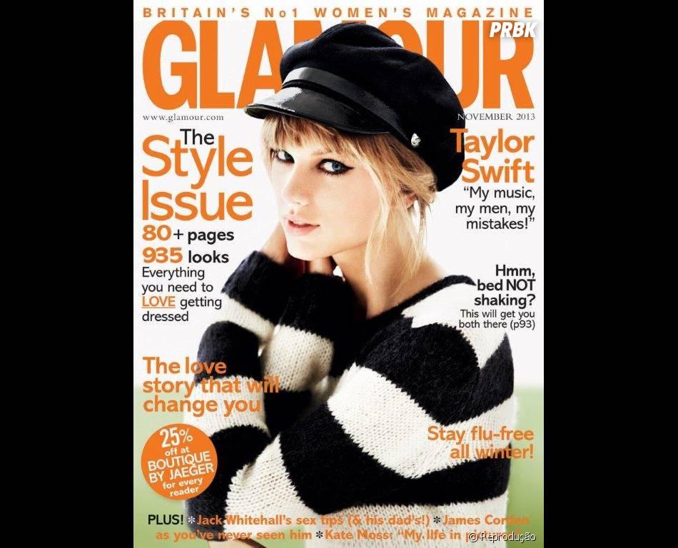 """""""N unca tive esse encaixe perfeito com alguém"""", assumiu Taylor Swift em entrevista à publicação"""