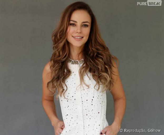 """Mudança de visual de Paolla Oliveira para segunda fase de """"Além do Tempo"""""""