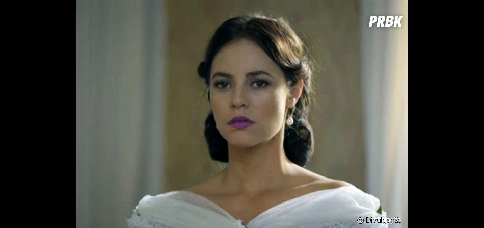 """Em """"Além do Tempo"""": Melissa (Paolla Oliveira) é abandonada no altar por Felipe (Rafael Cardoso)!"""