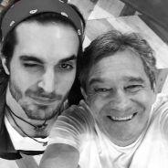"""Fiuk e Luan Santana fazem dueto explosivo no palco do """"Altas Horas"""", da Globo!"""