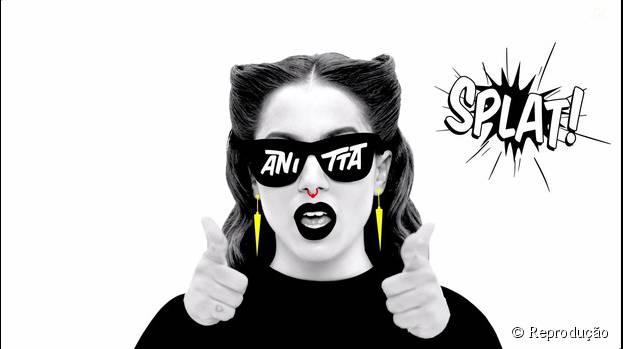 """Anitta consegue 4 milhões de visualização com o clipe de """"Bang"""" e lança novo álbum oficialmente"""