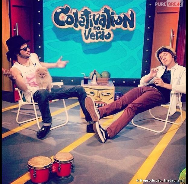 """Fiuk é o apresentador no programa """"Coletivation"""" na MTV e tem sua carreira solo!"""