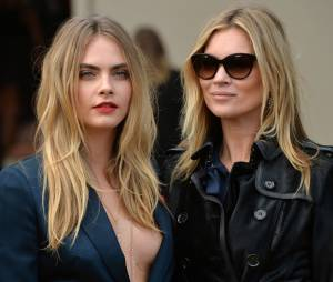 Cara Delevingne diz que contou com a ajuda de Kate Moss para se livrar da depressão