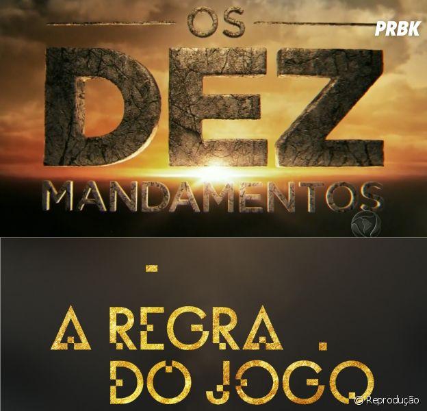 """Confira 5 semelhanças entre """"Os Dez Mandamentos"""", da Record, e """"A Regra do Jogo"""", da Globo!"""