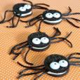 Essas aranhas de Halloween estão com uma ótima cara, não?