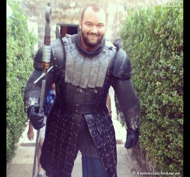 "The Mountain será interpretado por Hafbór Júlíus Björnsson em""Game of Thrones"""