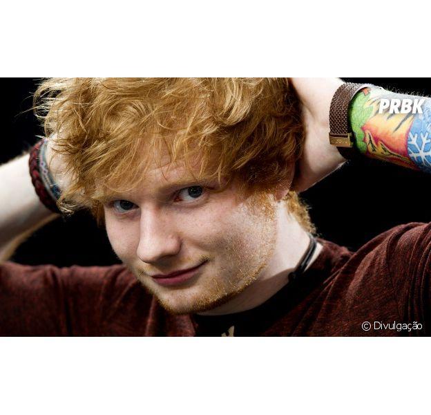 Ed Sheeran comemora estreia de show e revela que curte ficar de ressaca