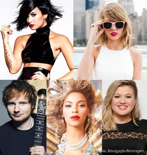 Demi Lovato Beyoncé Ed Sheeran E Mais Músicas Para Superar Um Amor