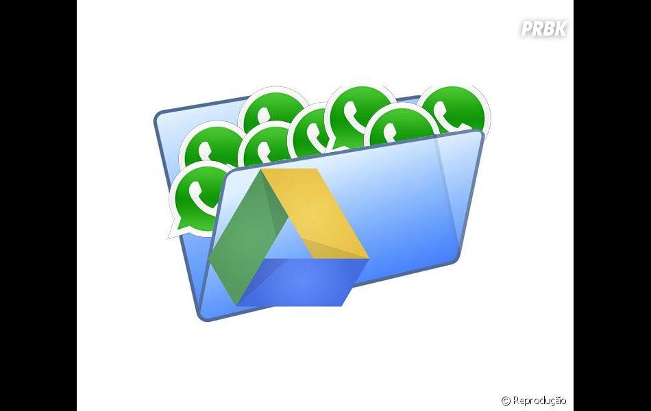 Em sua última atualização para Android, o Whatsapp finalmente se integrou ao Google Drive