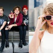 "Taylor Swift e 5 Seconds Of Summer em guerra? Baterista da banda alfineta: ""Parece destrutiva"""