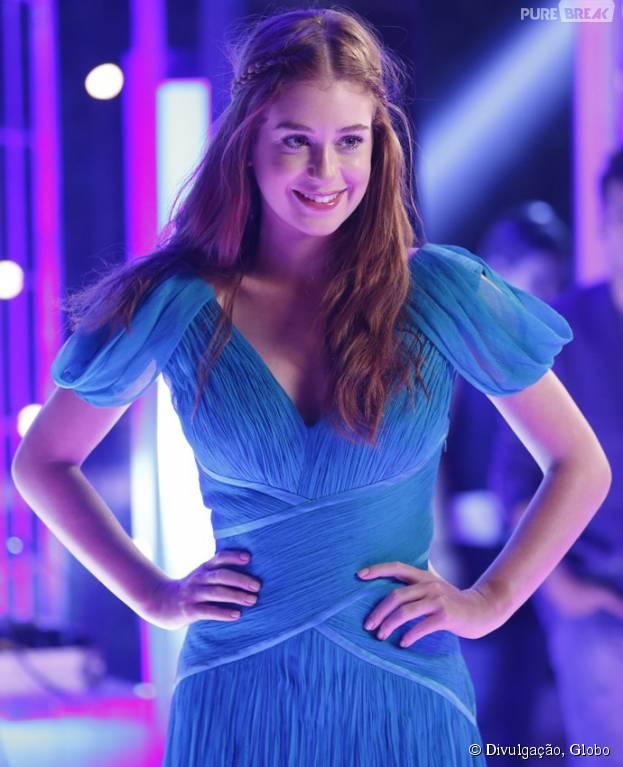 """Em """"Totalmente Demais"""", Eliza (Marina Ruy Barbosa) pensa em ser modelo e foge da casa da mãe para realizar sonho!"""