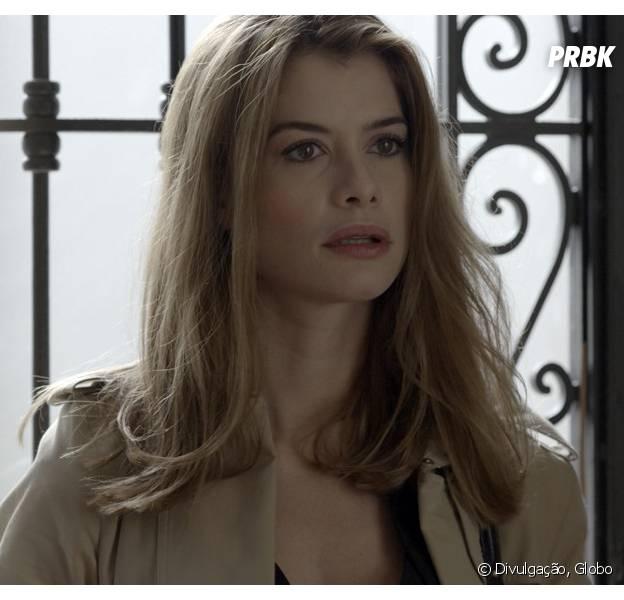 """Em """"Além do Tempo"""", Lívia (Alinne Moraes) sonha com penhasco que morreu na outra vida!"""