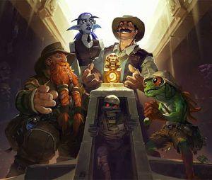 """De """"Hearthstone: Heroes of Warcraft"""": expansão """"Liga dos Exploradores"""" transforma jogo em aventura!"""