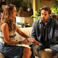 "Novela ""Além do Tempo"": Melissa (Paolla Oliveira) descobre que está grávida e Felipe sai de casa!"